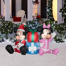 Air Blown Christmas Decorations Mickey Mouse Christmas Decorations Airblown Christmas Inflatable