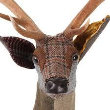 Deer Head by Buy Carola Van Fabric Arthur Sika Deer Head Wall Hanging Amara