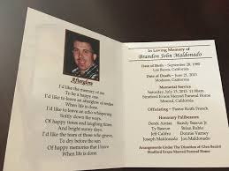 guest books for memorial service jeffrey califro obituary merced california legacy