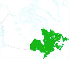 Map Canada by Map Of East Canada Coast Throughout Map Canada East Coast
