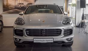 porsche cayenne price malaysia porsche cayenne facelift range officially launched in malaysia