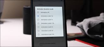 make android faster how to speed up animations to make android feel faster