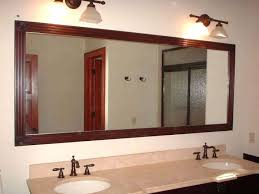 Bathroom Mirrors Chicago Framed Bathroom Mirror Ideas Bathroom Mirror Frame Ideas Inside