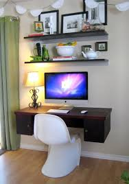 Diy Floating Computer Desk Unique And Excellent Floating Computer Desk Designs Nowadays