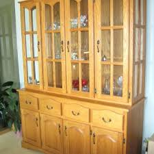 solid oak china cabinet china cabinet hutches for sale solid oak china cabinet hutch oak