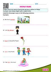 free printable nouns worksheets for pre k u0026 kindergarten