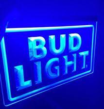 bud light bar light bud light bar light ebay