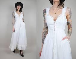 wedding dresses saks vtg 70 s gunne sax saks fifth avenue eyelet summer wedding dress