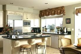 window valance ideas for kitchen kitchen bay window valance ideas inoweb info