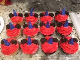mickey sorcerer cupcakes for ordered cupcakes from grocery
