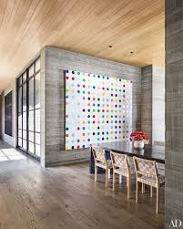 8 homes showcasing damien hirst paintings damien hirst paintings