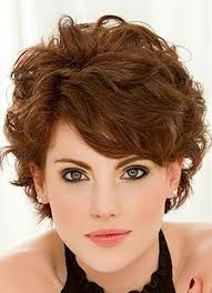 short hairstyles for women with curly hair women medium haircut