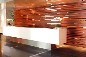 Hotel Reception Desk Hotel Reception Design Hotel Reception Desk With Mirror Feature