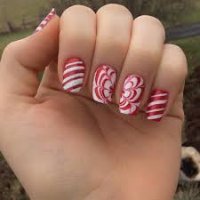 candy cane nail art best nail 2017 candy cane nail art best nail