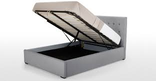 bedroom double bed storage bed platform bed frame with storage