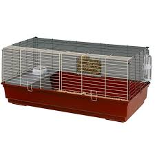 Indoor Hutch Ferplast Rabbit 120 Guinea Pig And Dwarf Rabbit Cage Pets At Home