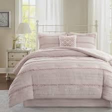 Blush Pink Comforter Madison Park Isabella Pink Comforter Set Free Shipping Today