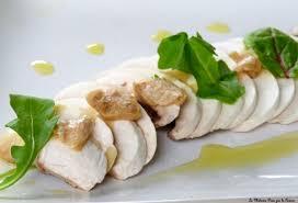 huile de noisette cuisine carpaccio de chignons frais copeaux de foie gras noisettes et