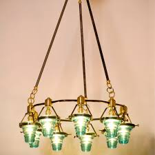 minimalist green chandeliers that can be decor the modern natural