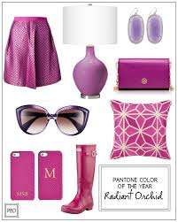 pantone color of the year 2014 radiant orchid progression by design