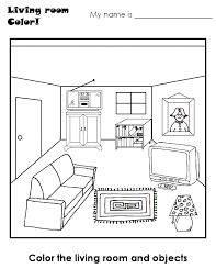 livingroom cartoon coloring cartoon images of a living room carameloffers