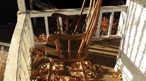 Old Man Rocking Chair Pneumatic Haunted Rocking Chair Prop For Halloween Youtube