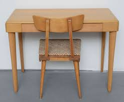 maple desks home office heywood wakefield maple desk 1960s chair sold desk comes solo for