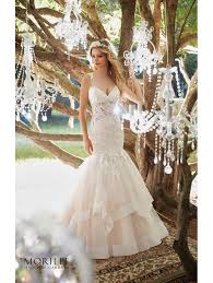 bridal gown mori 8118 marciela glamourous mermaid bridal gown ivory