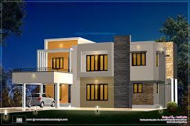 kerala home design flat roof elevation modern house designs floor plans tag bali style house floor plans