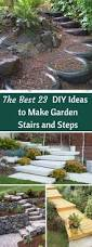 best 23 diy ideas to make garden stairs and steps