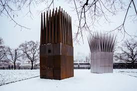 gallery of john hejduk u0027s jan palach memorial opens in prague 9