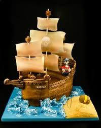 70 fantastic cake designs which will make you look twice pirate