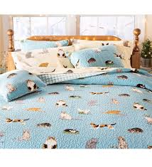 Bedding Quilts Sets King Kitten Caboodle Quilted Bedding Set Quilts Quilt Sets
