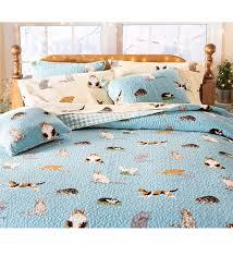 King Quilt Bedding Sets King Kitten Caboodle Quilted Bedding Set Quilts Quilt Sets