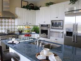 granite countertop install cabinets kitchen copper range hood