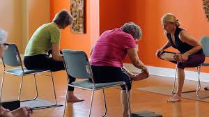 Chair Yoga Class Sequence 45 Minute Chair And Mat Yoga Class Kate Doran Youtube