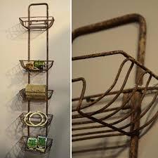 Bathroom Wall Baskets Wall Racks Metal Wall Rack Kitchen Storage Hanging Basket