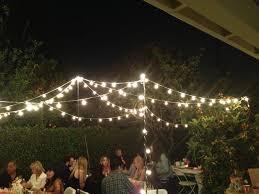 Stringing Lights In Backyard by Party Yard Lights I Had Rod Iron 8 U0026 10 Foot Shepard Hooks Made