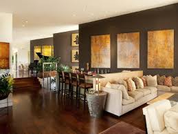 Accent Walls In Living Room by Brown Accent Walls Living Room Home