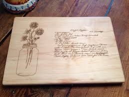cutting board with recipe engraved 21 last minute gifts that are actually thoughtful