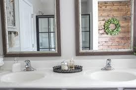Wood Framed Bathroom Vanity Mirrors Bathrooms Design Vintage Bathroom Mirror Circle Mirror Double