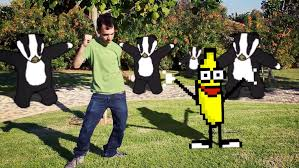 Peanut Butter Jelly Meme - badger with peanut butter jelly time gag quartet meme song
