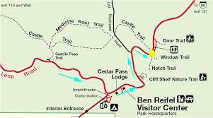 badlands national park map summer trip 2006 day 09