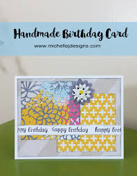how to create a handmade birthday card that is so easy