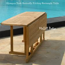 Butterfly Patio Furniture by Butterfly Rectangle Folding Dining Table Olympus