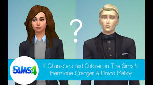 Life With Hermione If Characters Had Children In The Sims 4 Hermione Granger