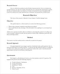 12 research report templates free sample example format
