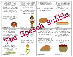 short story on thanksgiving a cornucopia of language the speech bubble