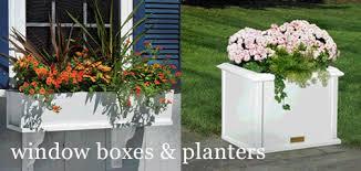 fire pits copper torches vinyl window boxes vinyl planters