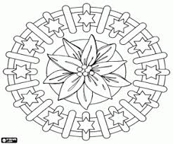 poinsettia coloring pages christmas decoration coloring pages printable games